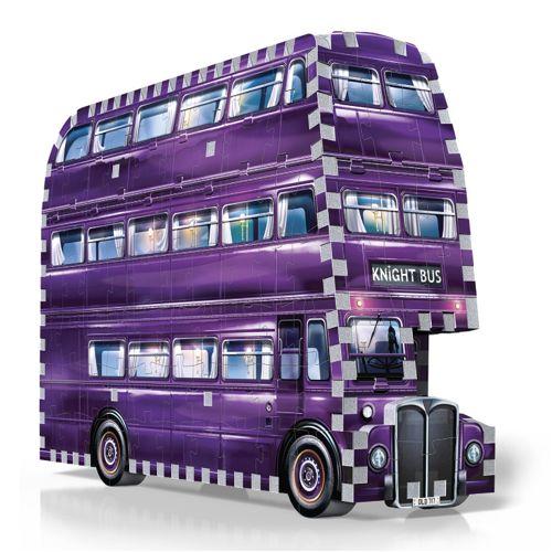 Knight Bus - Wrebbit 3D Harry Potter Puzzle