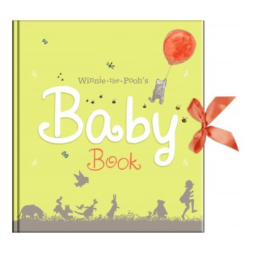 New Pooh Baby Record Book