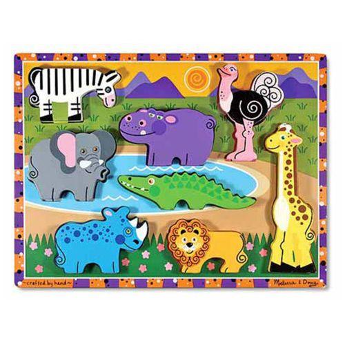 Safari Animals Chunky Puzzle