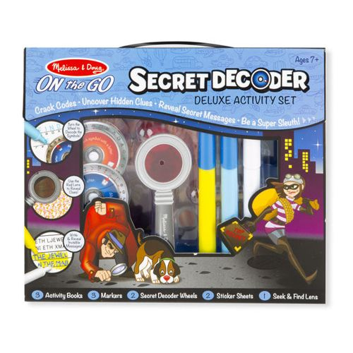 Secret Decoder Deluxe Activity Set