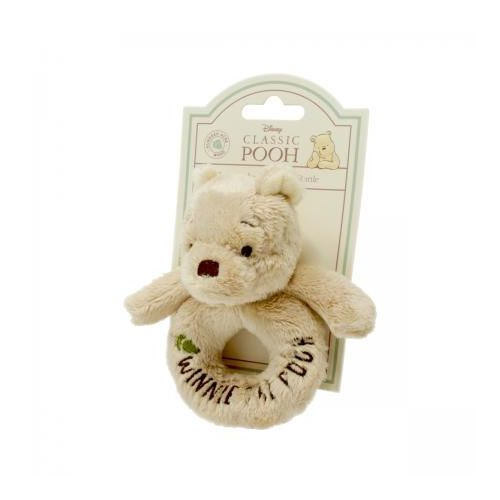 Winnie The Pooh Baby Ring Rattle