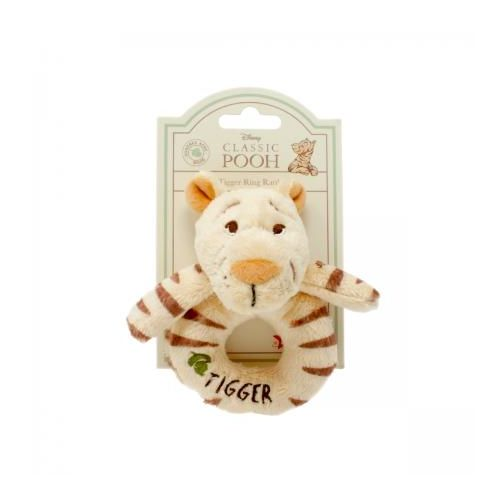 Winnie The Pooh Baby Tigger Ring Rattle