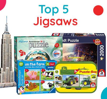 Top 5 Jigsaws