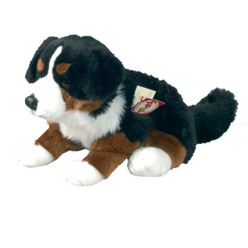Bernese Mountain Dog sitting 29 cm