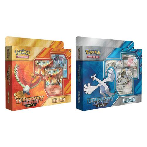 Legendary Battle Deck (Ho-Oh And Lugia): Pokemon Tcg ...