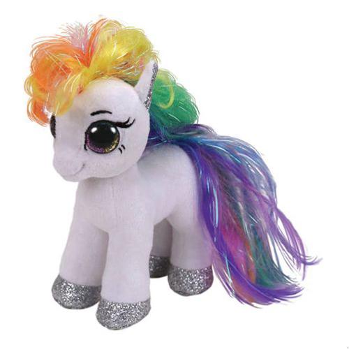 TY Starr white pony