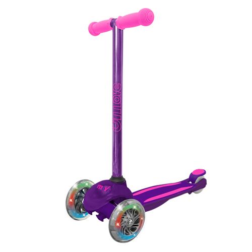 U Move Mini Led Scooter - Purple / Pink