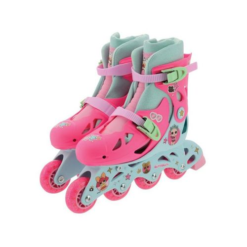 Lol Surpise In-Line Skates With Sticker Sheet - With Glitter Wheels And Socks | Toys | Toy Street UK