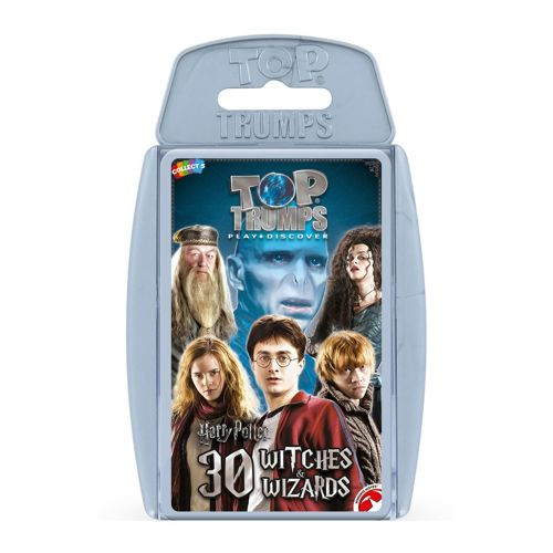 Harry Potter Greatest Witches And Wizards Top Trumps Specials