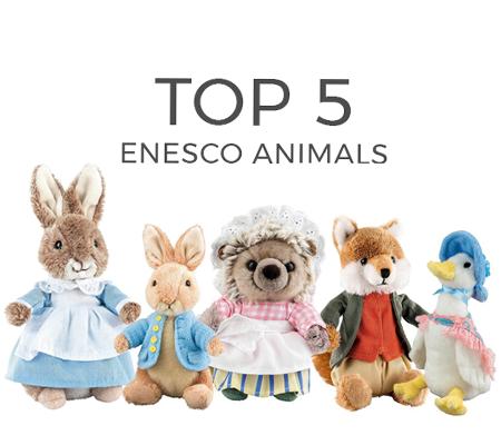 Top 5 Enesco Animals