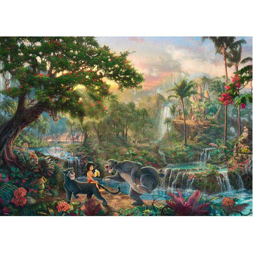 Thomas Kinkade: Disney - The Jungle Book (1000Pc)