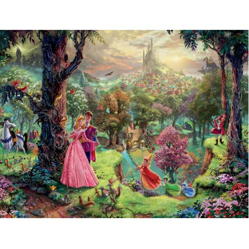 Thomas Kinkade: Disney - Sleeping Beauty (1000Pc)