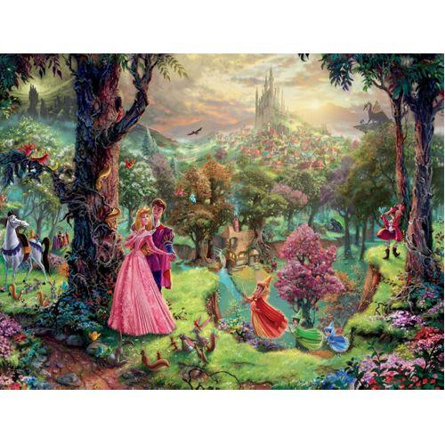 Thomas Kinkade: Disney - Sleeping Beauty (1000Pc)