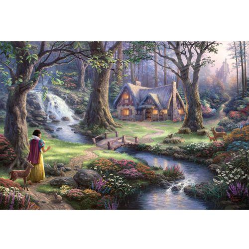 Thomas Kinkade: Disney - Snow White (1000Pc)