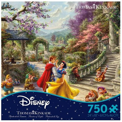 Thomas Kinkade: Disney, Snow White - Dancing With The Prince 1000Pc