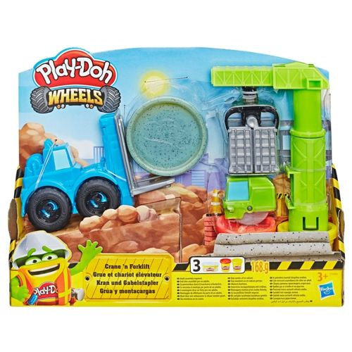 Play-Doh Crane N Forklift