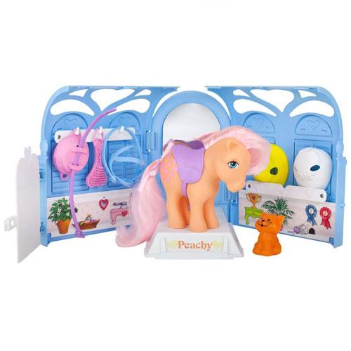 My Little Pony Retro Pretty Parlor Playset W/ Peachy - Wave 1