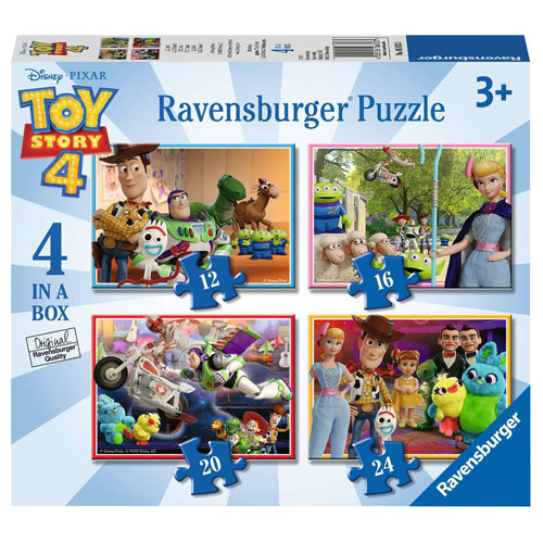Toy Story 4 - 4 Puzzles in a Box