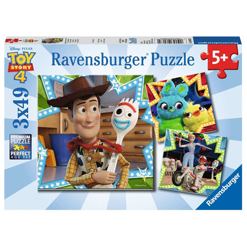 Toy Story 4 - 3 Puzzles in a Box