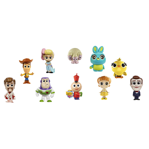 Toy Story 4 - Mini Figure 10 Pack