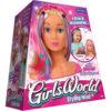 Girl's World Styling Head