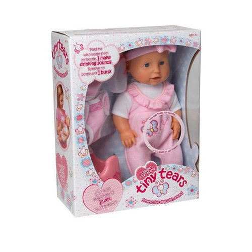 Classic Tiny Tears Interactive Doll