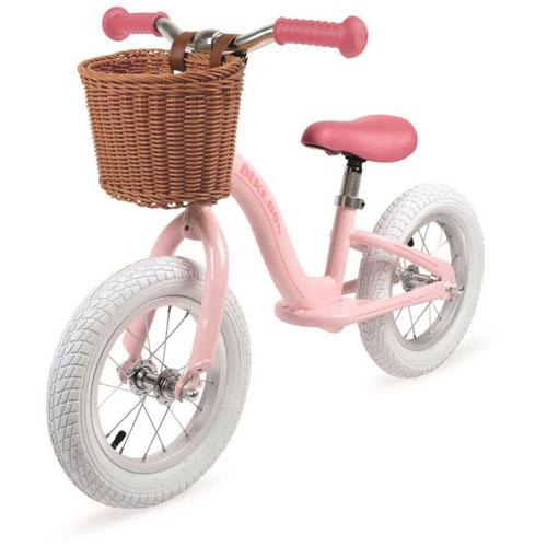Metal Vintage Bikloon Balance Bike - Pink