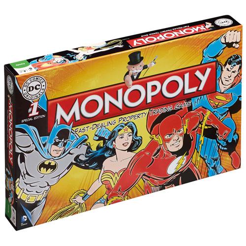 Monopoly - DC Comics Retro Uk