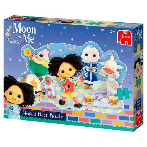 Moon & Me Shaped Floor Puzzle (20 Pieces)