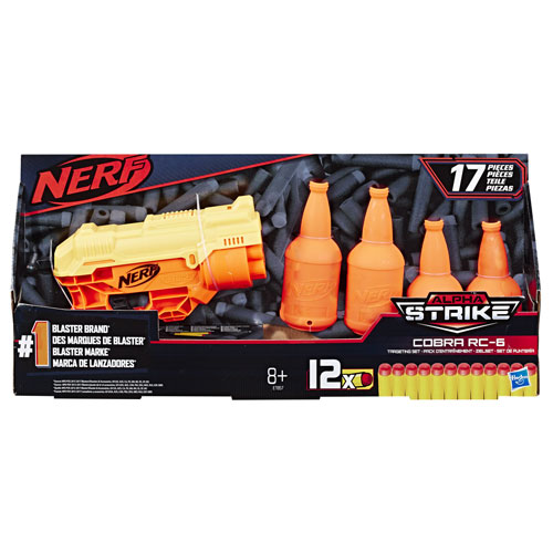 Nerf Alpha Strike Cobra Rc 6 Tgt Set