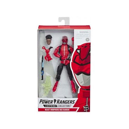 Power Rangers Lightning Collection: Bmr Red Ranger Figure