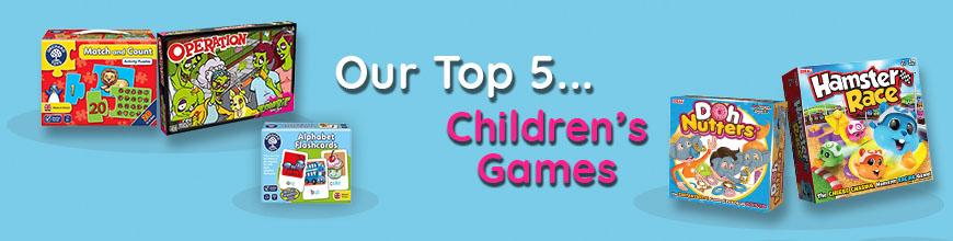 Top 5 Children's Games