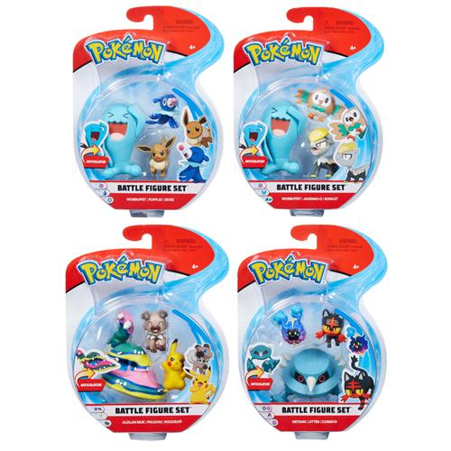 Pokemon Battle 3 Figure Pack