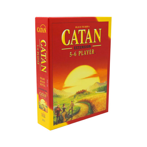 Catan 5 & 6 Player Exp (2015 Refresh)