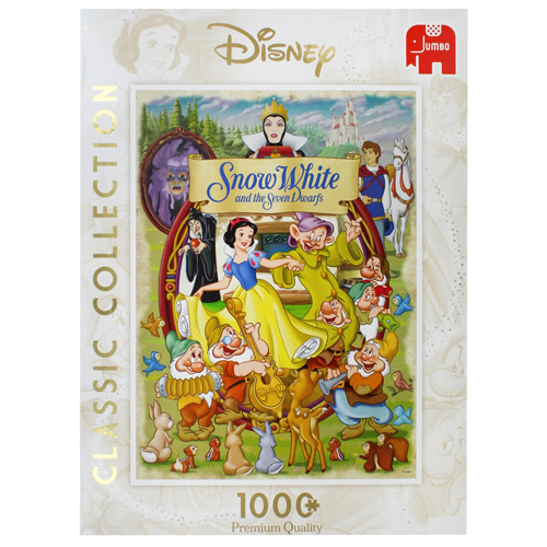Disney Snow White Movie Poster Puzzle (1000 Piece)