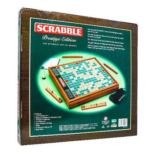 Scrabble Prestige Edition