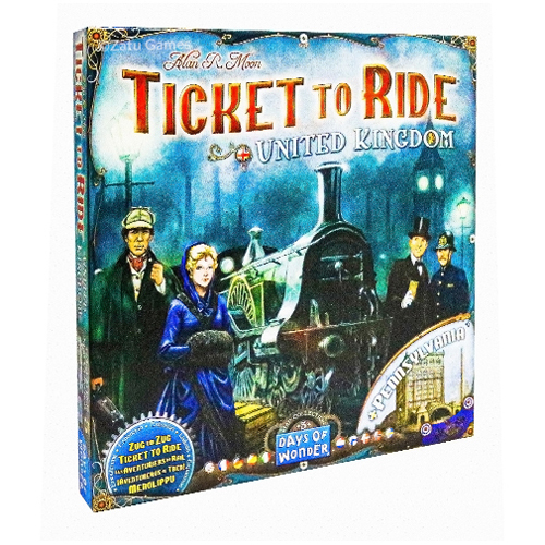 Ticket To Ride United Kingdom & Pennsylvania