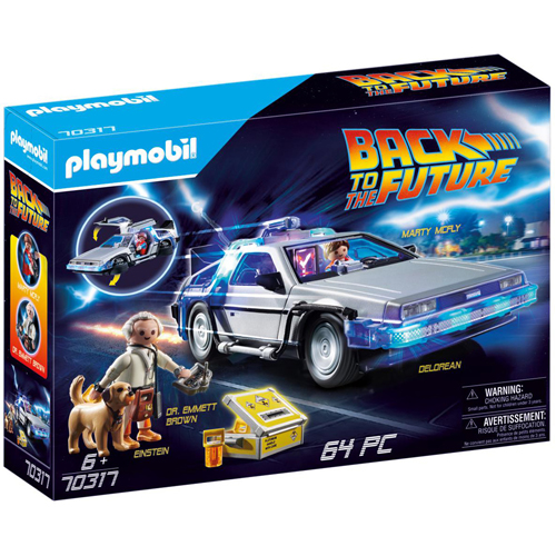 Playmobil: Back to the Future DeLorean