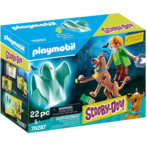 Playmobil: SCOOBY-DOO! Scooby and Shaggy with Ghost