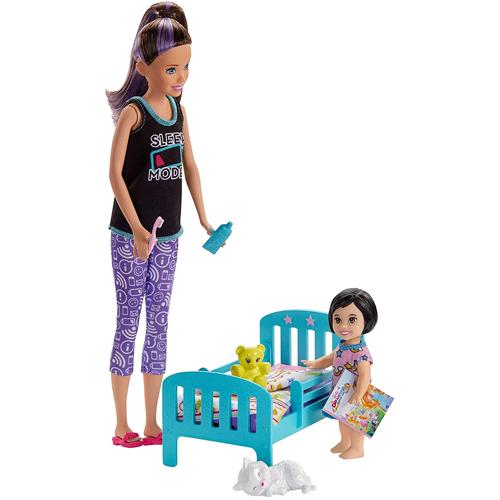 Barbie Babystitter Bedtime