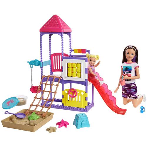Barbie Babystitter Playground