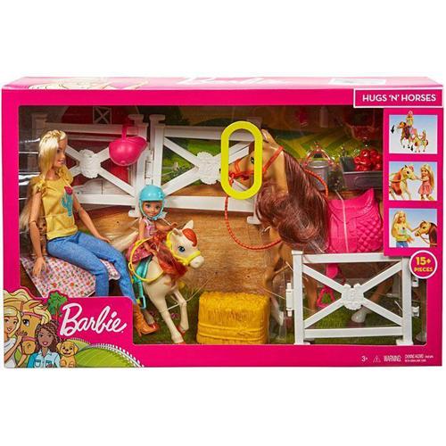 Barbie & Chelsea Hugs & Horses