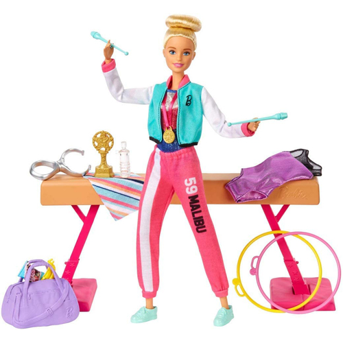 Barbie Gymnastics Playset