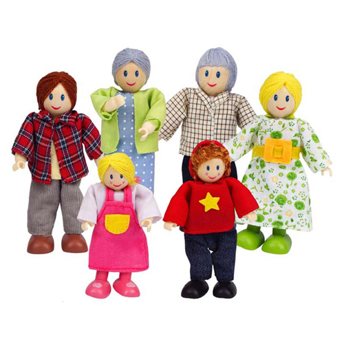 Happy Family - Caucasian