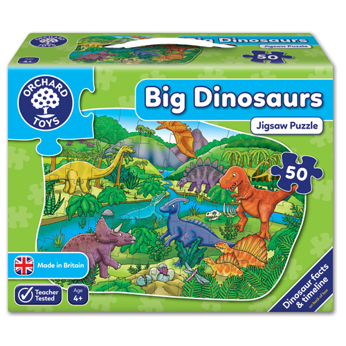 Big Dinosaur Puzzle