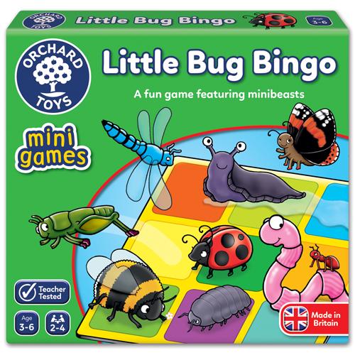 Little Bug Bingo - Mini Game