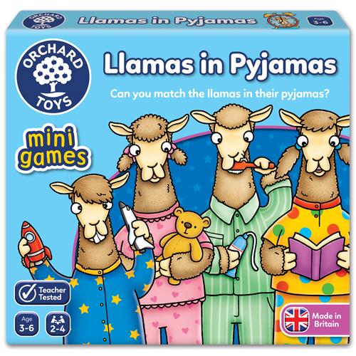Llamas In Pyjamas - Mini Game