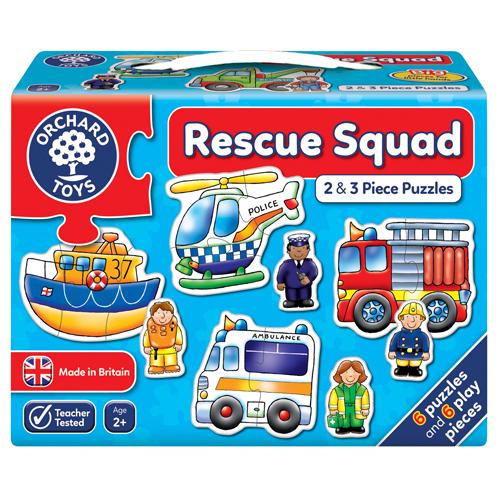 Rescue Squad Puzzles