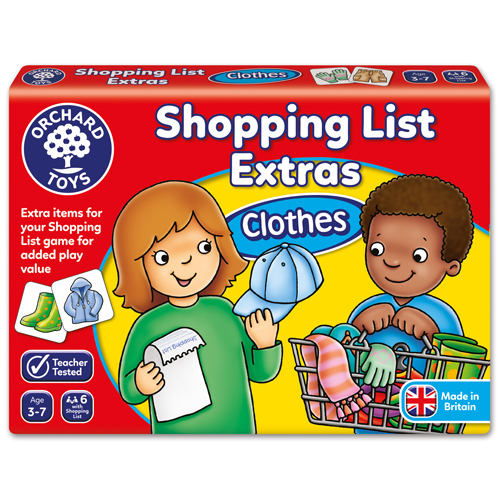 Shopping List Clothes Booster Pack