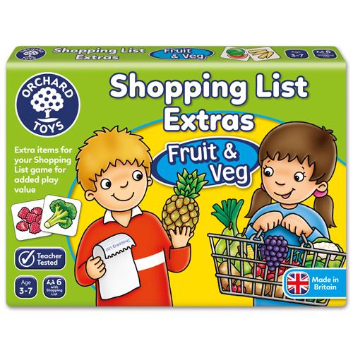 Shopping List Fruit & Veg Booster Pack